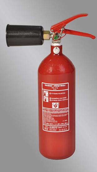 Sněhový hasicí přístroj